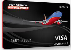 Southwest.com rapid rewards visa credit card