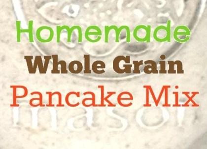 pancake mix label
