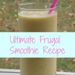 Ultimate Frugal Smoothie {Recipe & Tips}