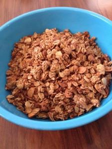 Maple-Almond Granola