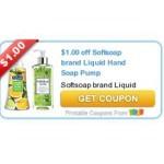 $1 off Softsoap Liquid Hand Soap