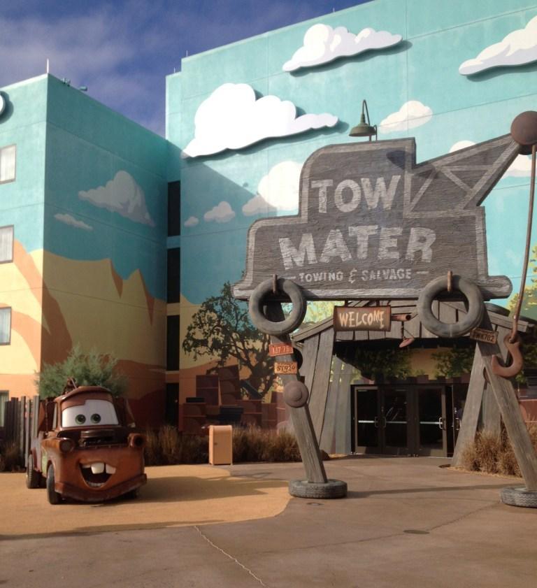 art of animation cars area