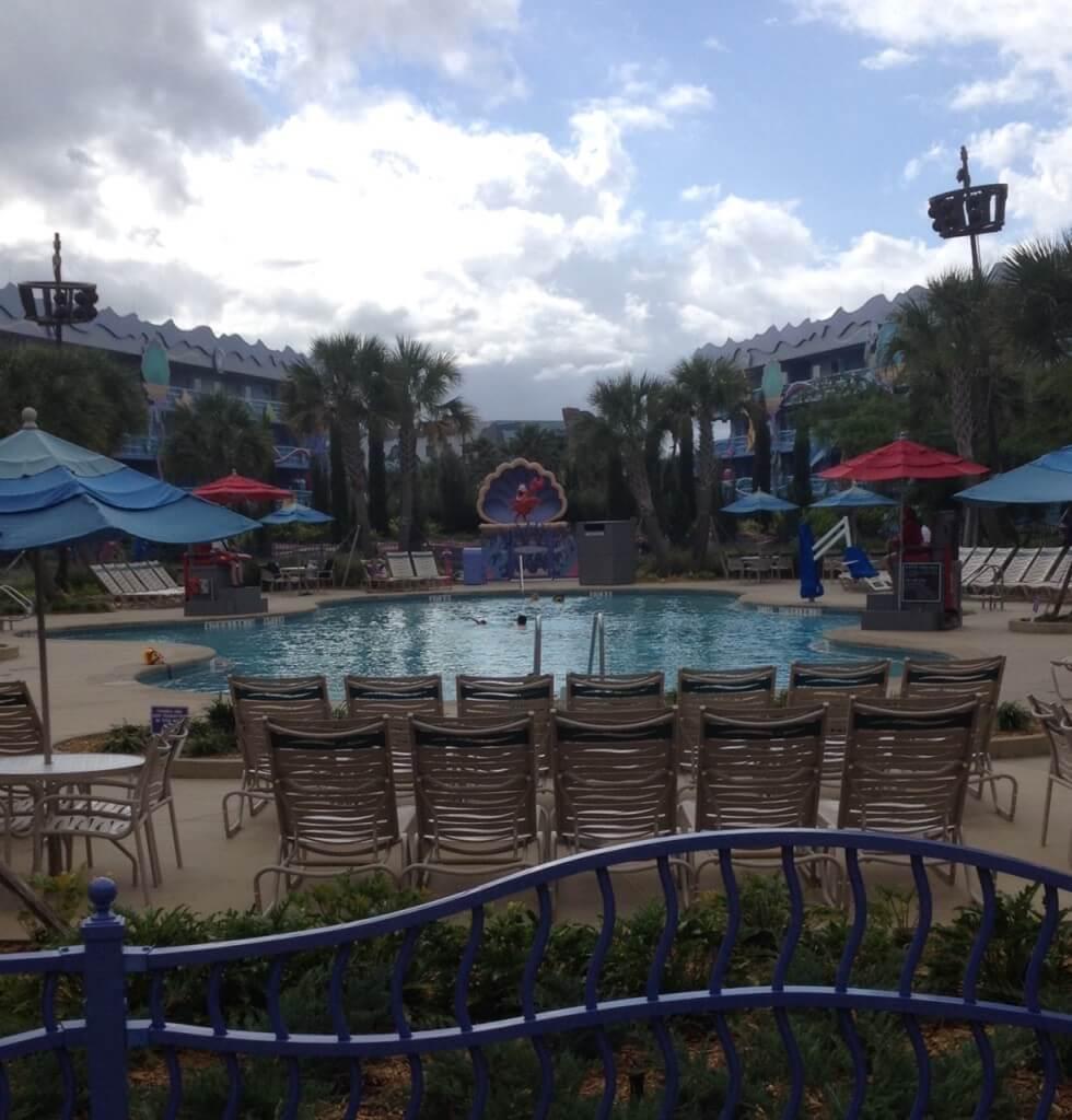 The Little Mermaid pool