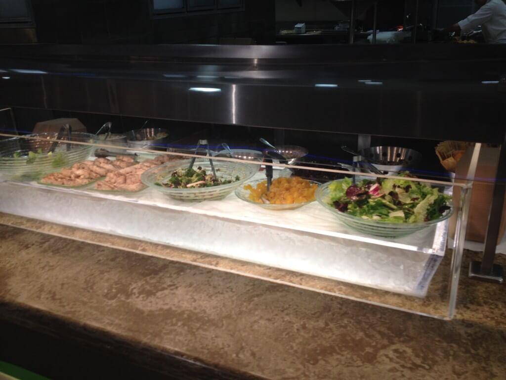 sunshine seasons soup salad station