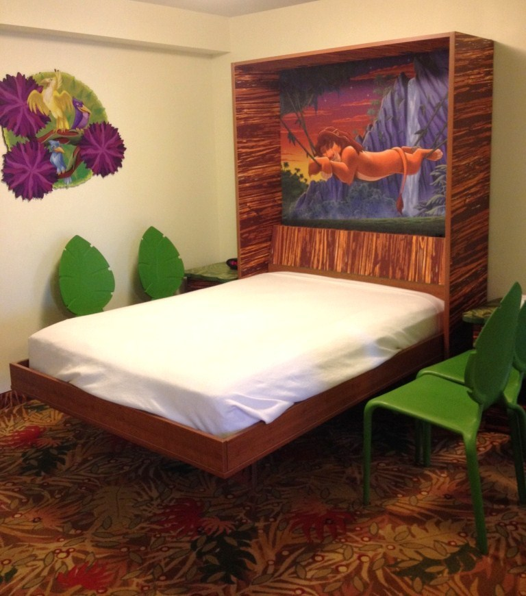 art of animation lion king themed murphy bed
