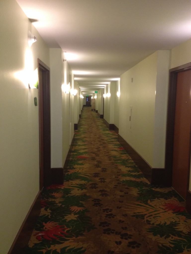 art of animation interior hallway