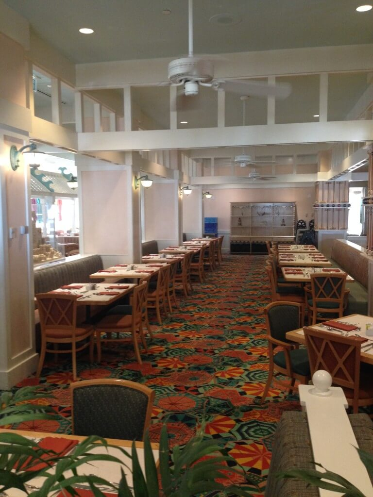 dining area at Cape May Cafe