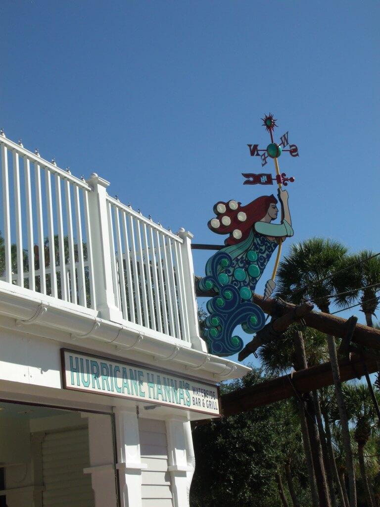 Hurricane Hanna'sWaterside Bar & Grill Exterior