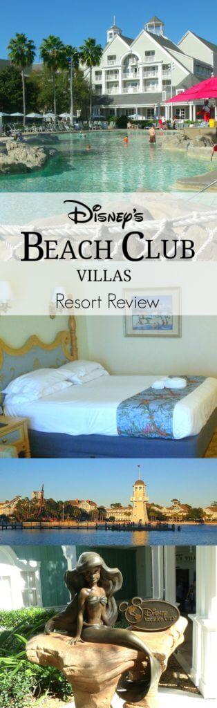 Disney's Beach Club Villas Resort Review Pinterest Image