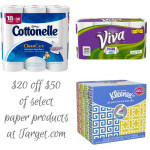 Target.com: $20 off Cottonelle, Viva & Kleenex – Prices beat Amazon Subscribe & Save!
