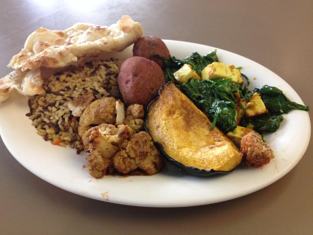 Vegetarian Tandoori Platter