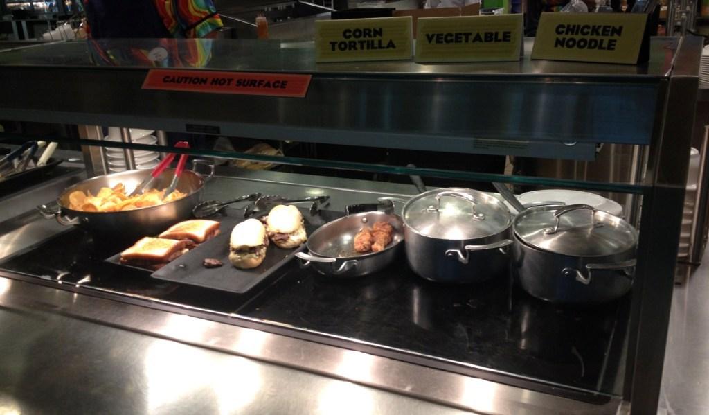hot food station