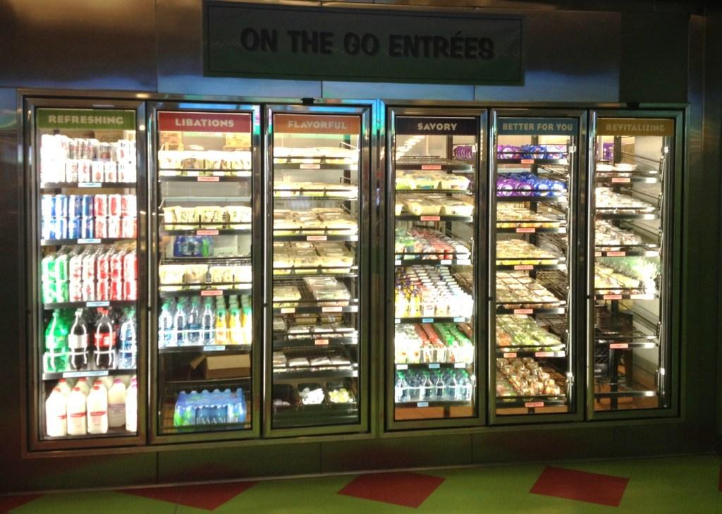Grab-n-Go offerings area