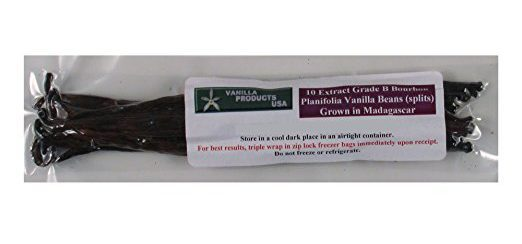 10 pack of extract grade vanilla beans