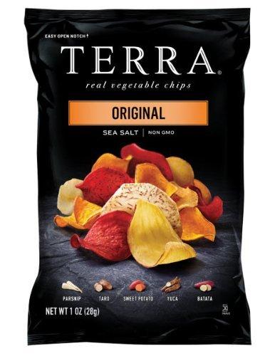bag of Terra real vegetable chips