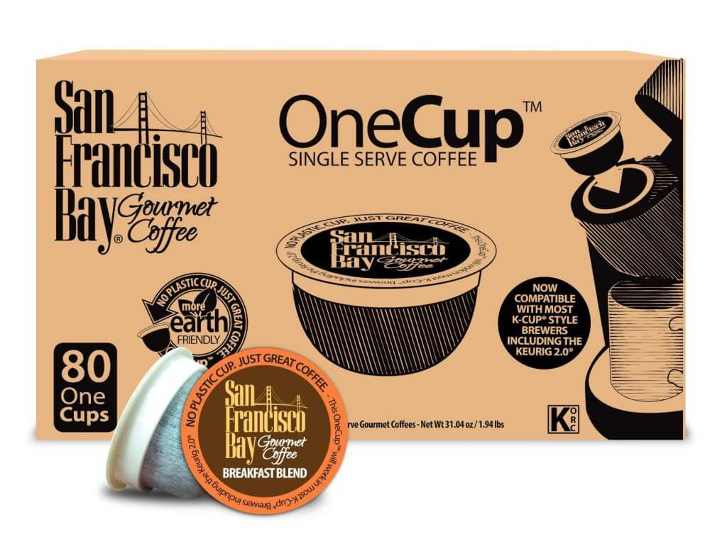 Box of San Francisco Bay One Cup Single Serve Coffee