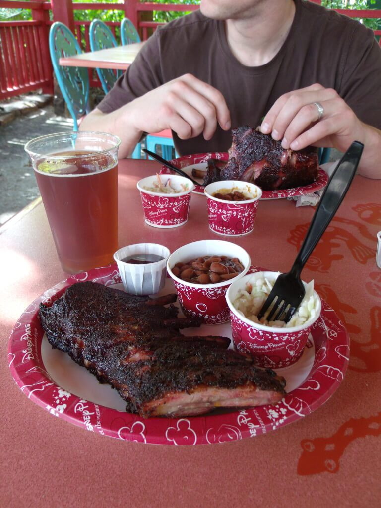 Flame Tree Barbeque Ribs