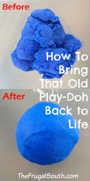 how to bring that old play-doh back to life pinterest image