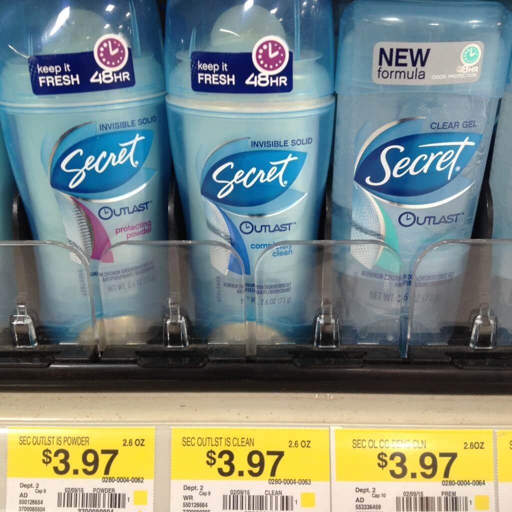 Women's Secret Deodorant