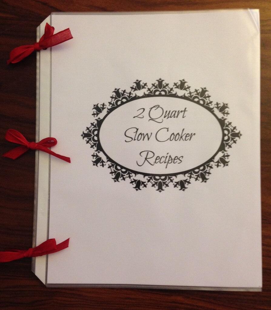 2 quart slow cooker recipes