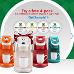 Expired: Free Sample: Green Mountain Organic K-Cups (Pack of 4)