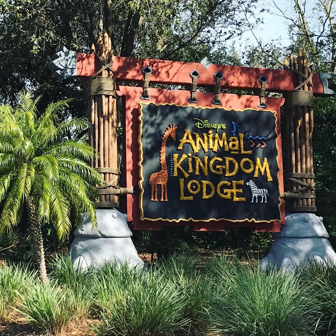 animal kingdom lodge sign