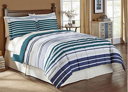 Bon Ton Microfiber Down Alternative Comforters From Only