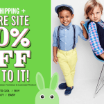 Children's Place: 50% Off + Free Shipping