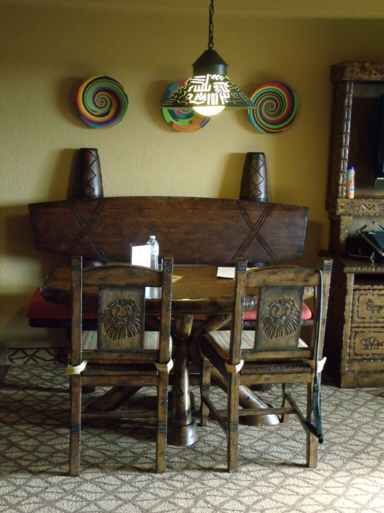 Living/Dining Room Area in a Two Bedroom Villa