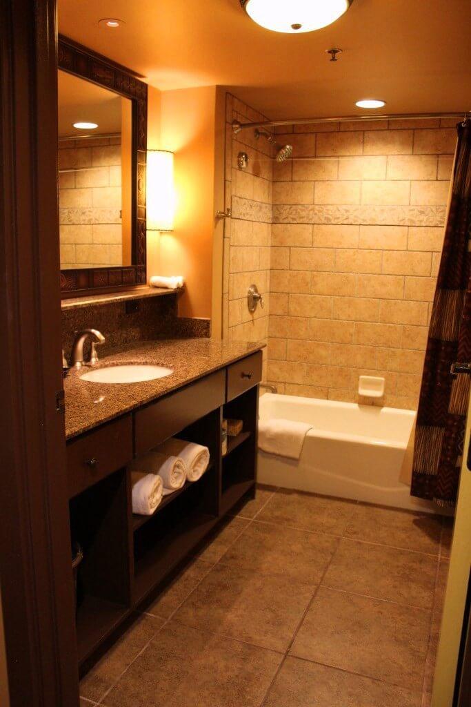 Kidani Village Studio Villa Bathroom