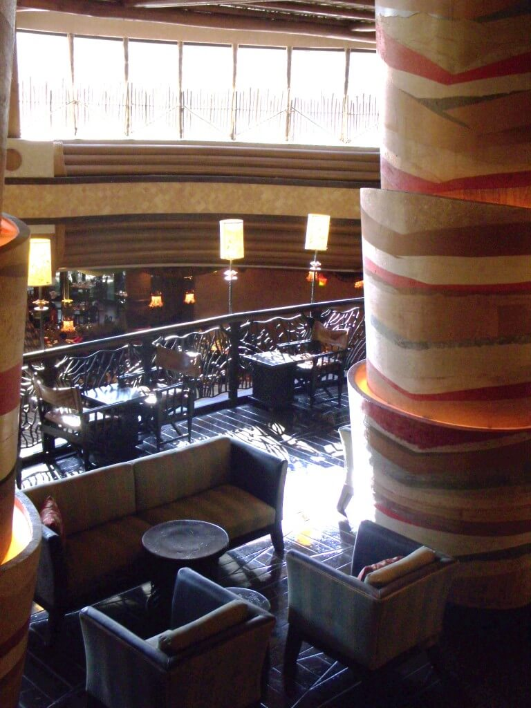 Victoria Falls Lounge at Jambo House