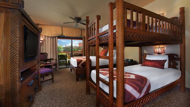 Jambo House Bunkbed Room