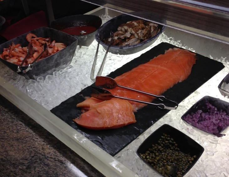 salmon service and more cold options
