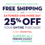 Disney Store: 25% Off + Free Shipping (Today 7/18 Only)