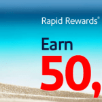 Earn 50,000 Points with a Chase Southwest Rapid Rewards Visa