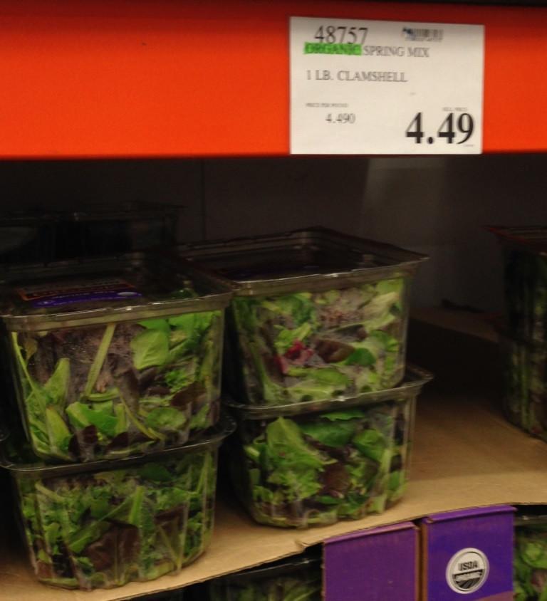 salad mix at costco