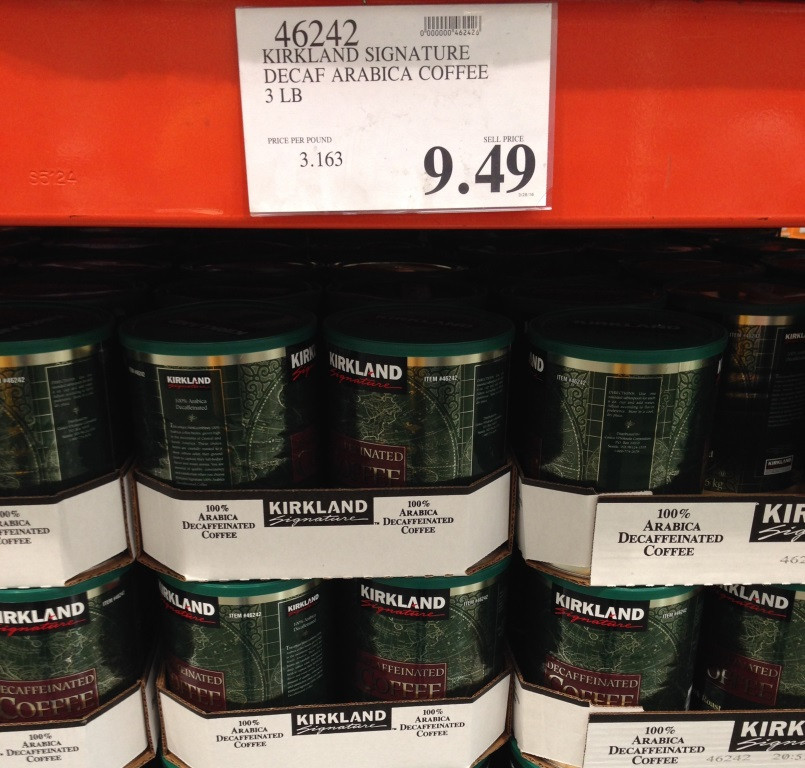 ground coffee at costco