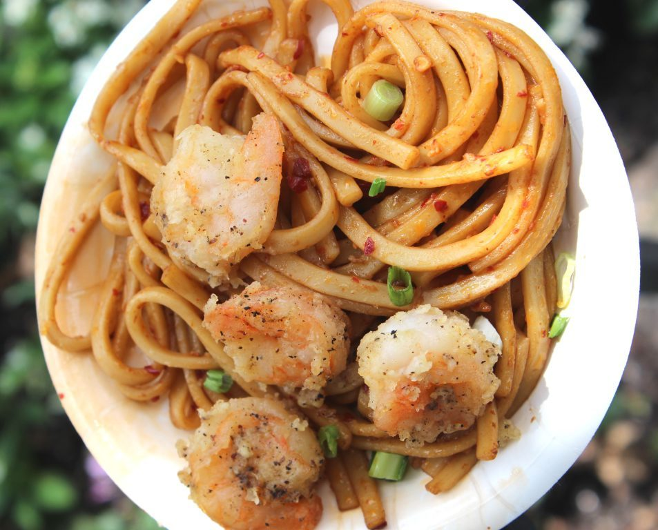 black pepper shrimp epcot food and wine festival