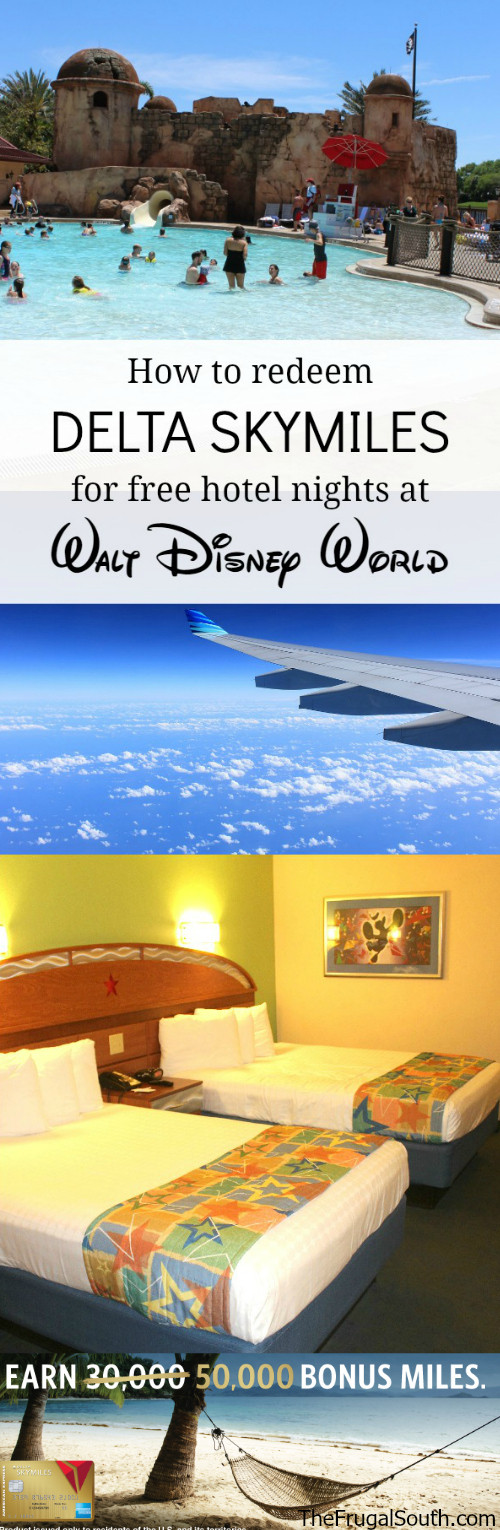 How To Redeem Delta Skymiles For Walt Disney World Hotel Stays The Frugal South