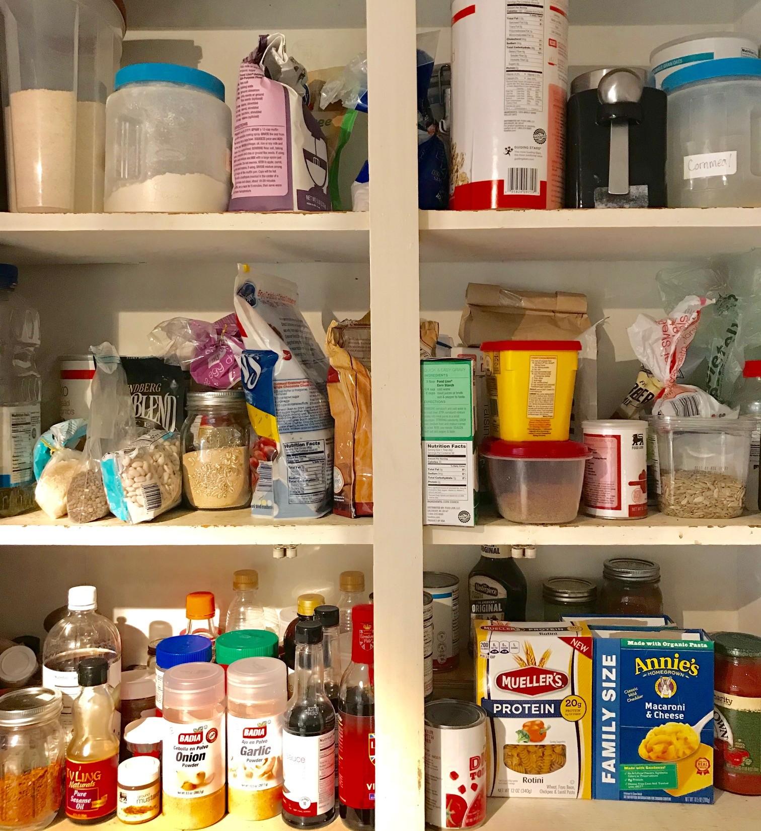 inside pantry