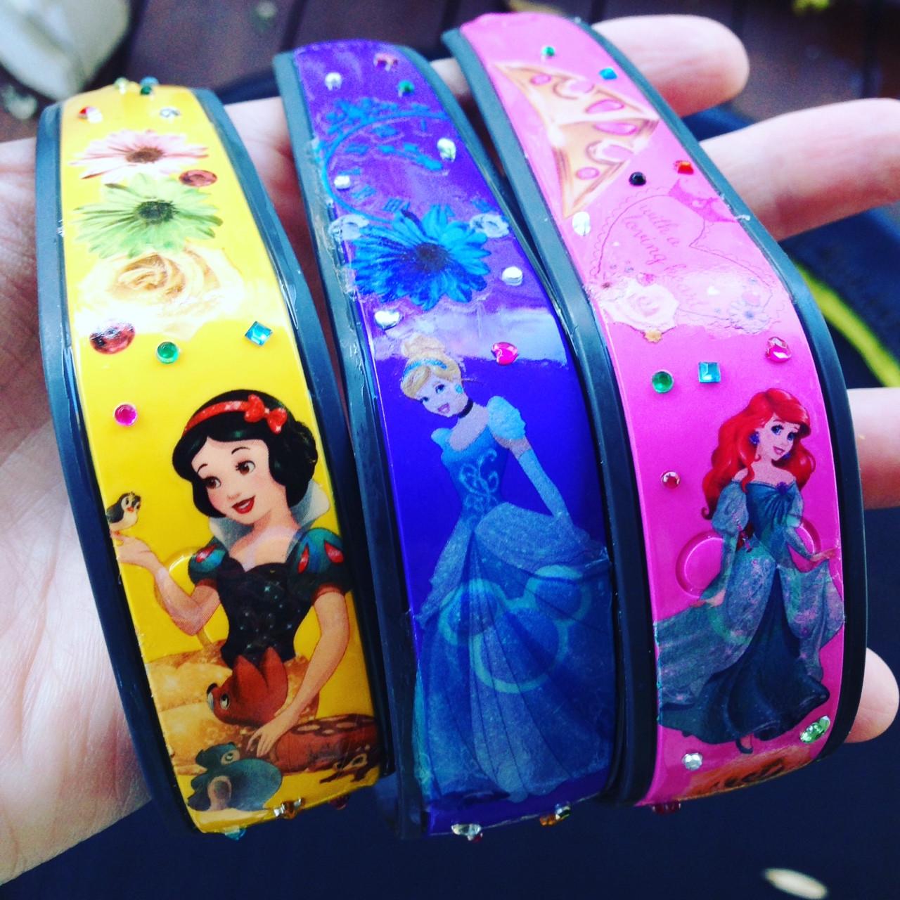 diy princess magic bands