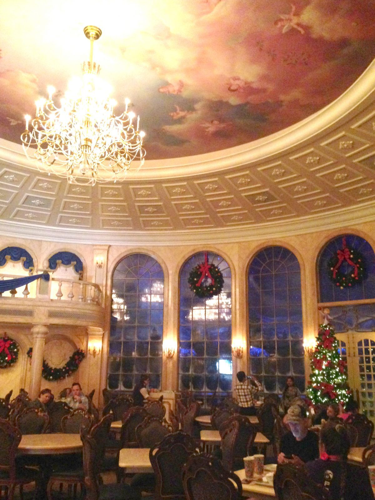 be our guest restaurant interior