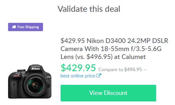 camera deal on dealspotr