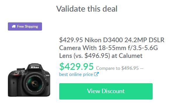 camera deal on dealspotr