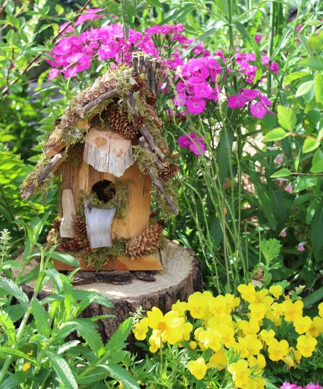fairy house at epcot flower and garden festival