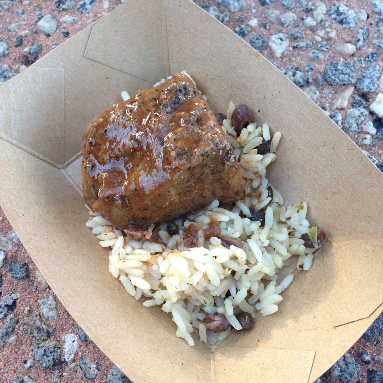Jamaican-Braised Beef with Pigeon Pea Rice