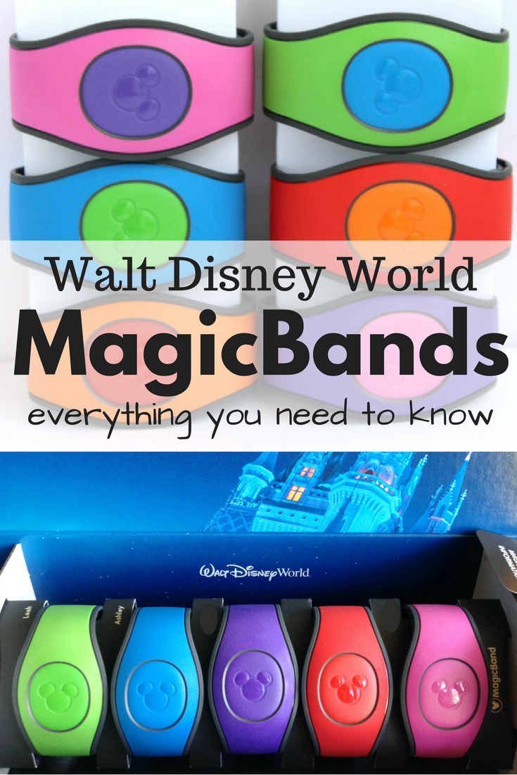 Everything you need to know about MagicBands at Walt Disney World! A peek at the new Magic Band 2.0 and more... #disneyworld #disneyplanning