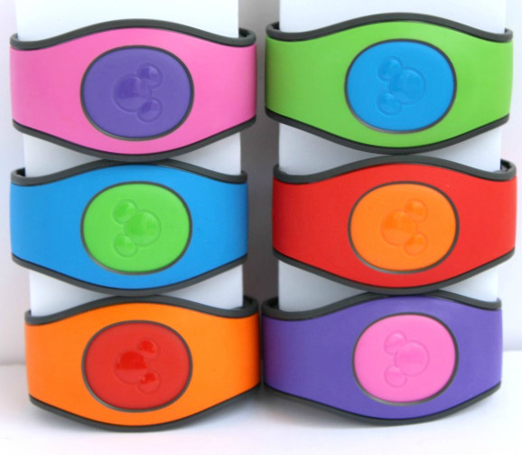 magic bands disney with mixed up colors in MagicBand 2.0