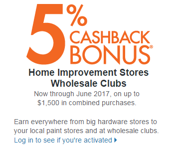 Wholesale Clubs cashback promo