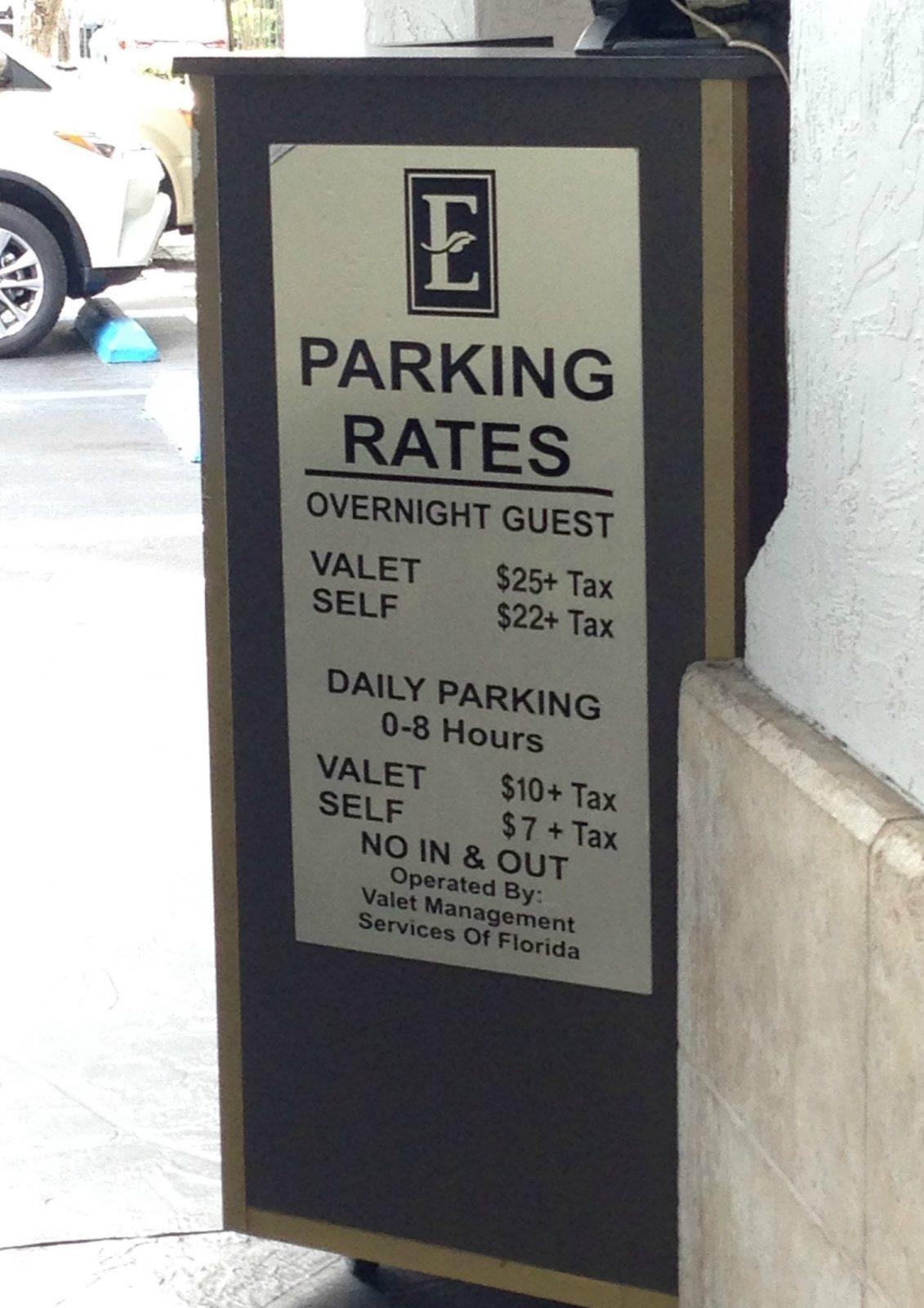 hotel valet